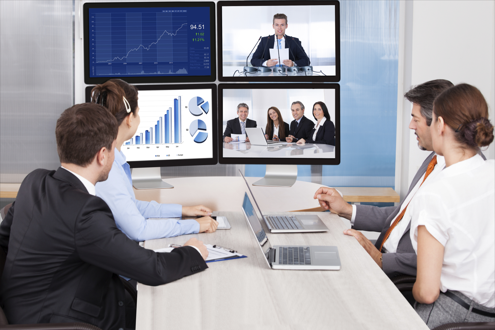 Turnkey V1 VoIP services feature online meetings for businesses